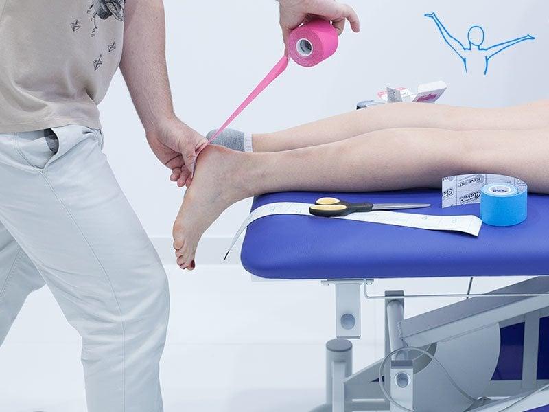 Kinesiotaping prawidłowe naklejanie kluczem do udanej terapii
