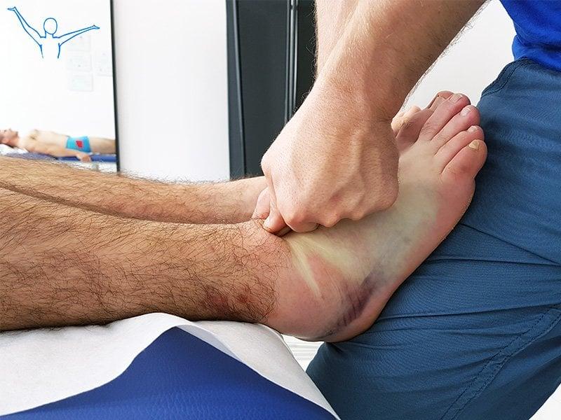 Rehabilitacja po skręceniu stawu skokowego