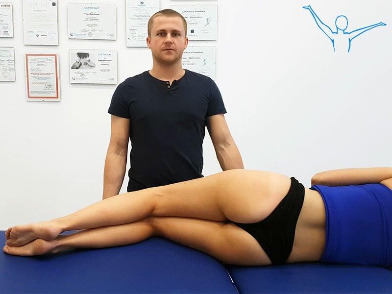 Mięsień gruszkowaty - rehabilitacja
