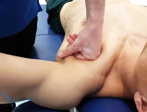 Mięsień piersiowy większy – masaż głęboki
