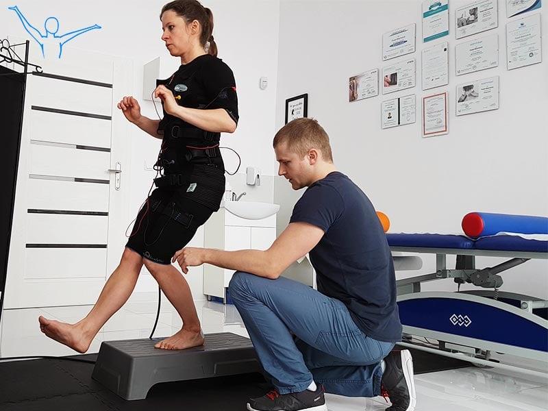 Trening EMS a fizjoterapia