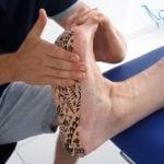 Rozcięgno podeszwowe - fizjoterapia