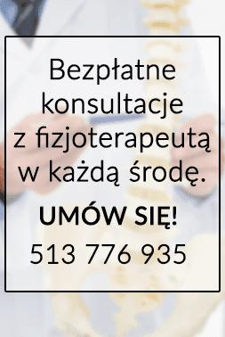 Bezpłatne konsultacje z izjoterapeutą