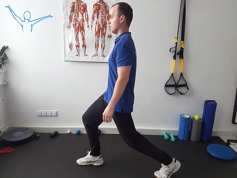 Stabilizacja centralna ćwiczenie 10
