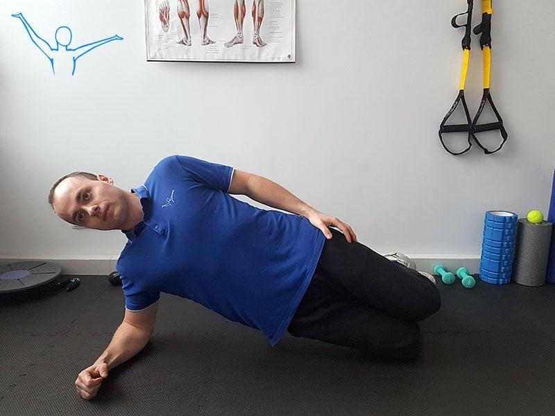Stabilizacja centralna ćwiczenie 5