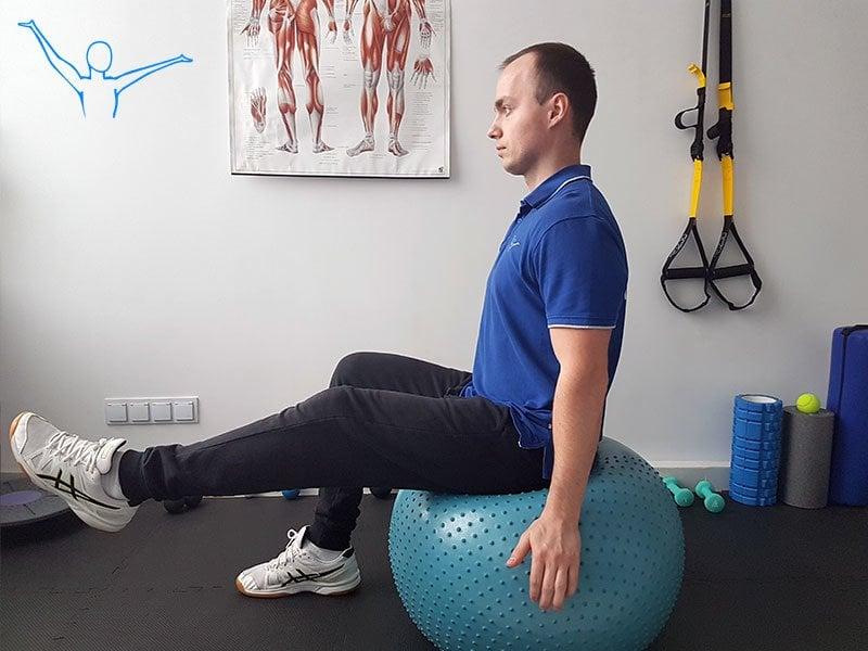 Stabilizacja centralna ćwiczenie 8