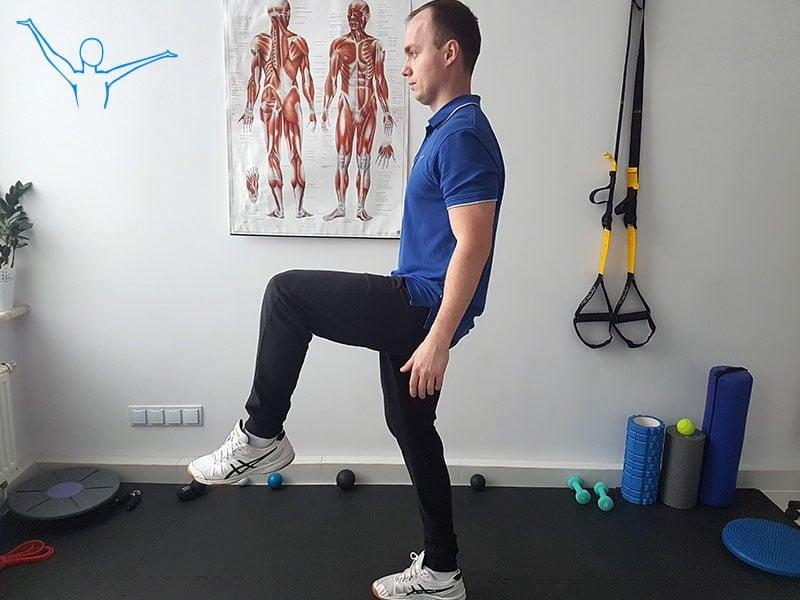 Stabilizacja centralna ćwiczenie 9