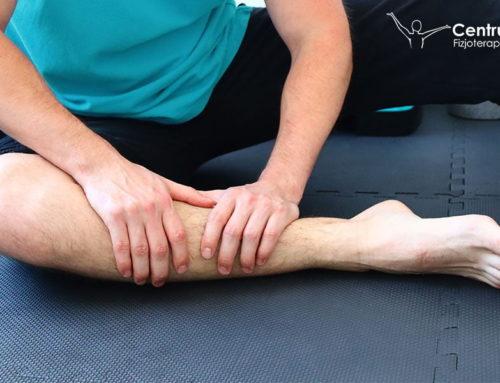 Napięte mięśnie nóg